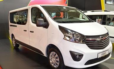 Opel Vivaro 8+1 M/T