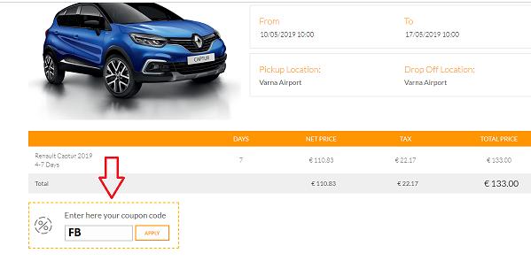 Nur Im May 2019 10 Rabatt Auf Renault Captur Modell 2019 Rent A